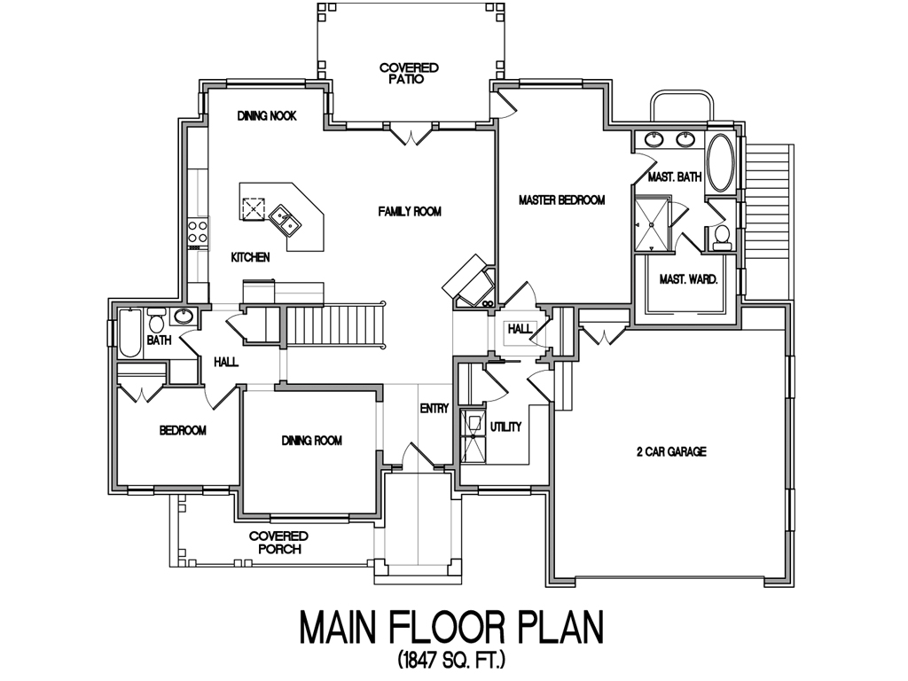 Architectural designs for a three bedroom house joy Architectural floor plans